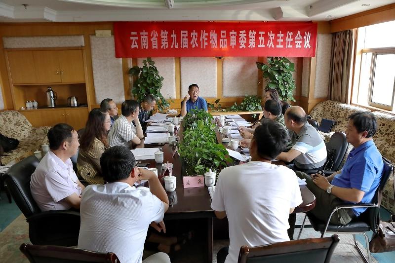 乐虎VIP第九届农作物品种审定委员会召开第五次主任委员会会议